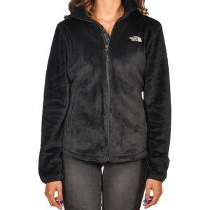 North Face Black Osito Fleece Jacket